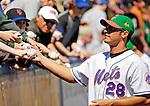17 March 2007: New York Mets pitcher Juan Padilla signs autographs prior to facing the Washington Nationals on St. Patrick's Day at Tradition Field in Port St. Lucie, Florida...Mandatory Photo Credit: Ed Wolfstein Photo