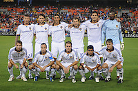 Los Angeles Galaxy Starting Elven.  DC United tied with Los Angeles Galaxy 0-0 at RFK Stadium, Saturday August 22, 2009.