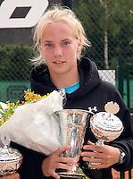 10-8-08, Eten Leur, NJK Tennis, Kampioen meisjes 18 jaar, Richel Hoogenkamp