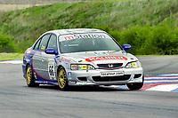 2001 British Touring Car Championship #66 Peter Cate. Honda Accord. Barwell Motorsport.