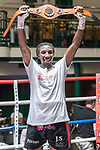 Jumanne Camero vs David Birmingham Southern Area Title Fight 10x3 - Lightweight Contest During Goodwin Boxing: Epsilon. Photo by: Simon Downing.<br /> <br /> Sunday 09th July 2017 - York Hall, Bethnal Green, London, United Kingdom.