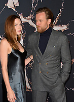 "LOS ANGELES, USA. October 30, 2019: Rebecca Ferguson & Ewan McGregor at the US premiere of ""Doctor Sleep"" at the Regency Village Theatre.<br /> Picture: Paul Smith/Featureflash"