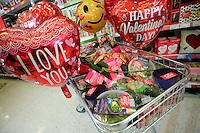 ASDA Aphrodisiac for Valentine's Day, Swansea, Wales, UK. Friday 10 February 2017