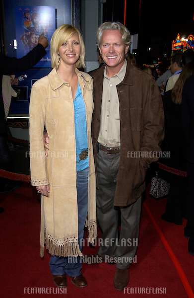 Actress LISA KUDROW & husband MICHEL STERN at the Los Angeles premiere of her new movie Wonderland..Sept 24, 2003
