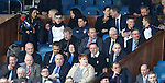 Players in the directors box