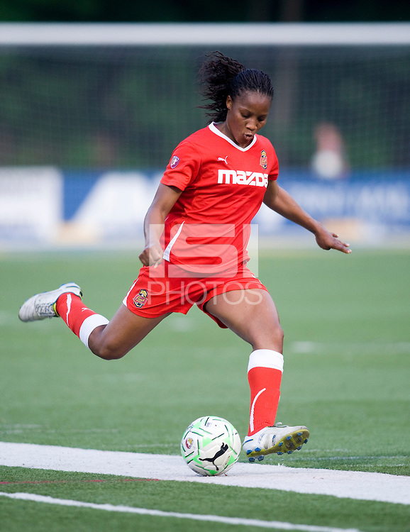 Kandace Wilson. The Western New York Flash defeated the Philadelphia Independence, 2-1, during the game at Quick Stadium in Chester, PA.
