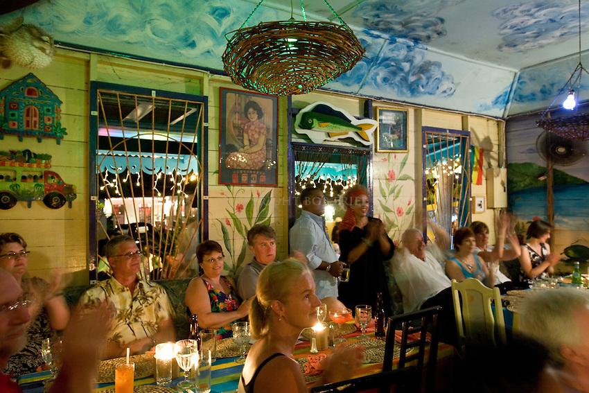 """Mannequins in Motion"" Drag Show.Ragamuffin's Bar & Restaurant.First Street.Holetown, St. James Parish.Barbados"