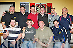 Competing in the Inn Between bar doubles darts championship Beaufort on Saturday night was front row l-r: Jer O' Connor, Jerry Kelleher, Pat Gill, Jonathan Reagan. Back row: Phil Standing, Dan Leen, Shane McSweeny, Leonard Fitzagerald, Jonathan Carey and Danny Looney.