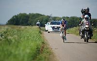 (eventual stage winner) Sylvain &quot;La Machine&quot; Chavanel (FRA)<br /> <br /> Eneco Tour 2013<br /> stage 5: ITT<br /> Sittard-Geleen 13,2km