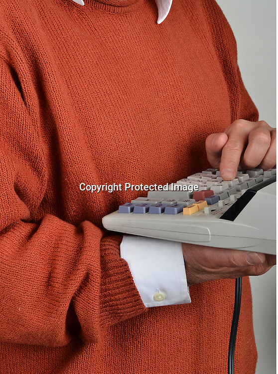 Stock photo of calculator
