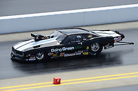Apr. 14, 2012; Concord, NC, USA: NHRA pro mod driver Donnie Martin during qualifying for the Four Wide Nationals at zMax Dragway. Mandatory Credit: Mark J. Rebilas-