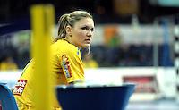 Handball Frauen / Damen  / women 1. Bundesliga - DHB - HC Leipzig : Frankfurter HC - im Bild: Natalie Augsburg . Porträt . Foto: Norman Rembarz .