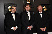 LOS ANGELES - JAN 26:  Hermitage Piano Trio at the 62nd Grammy Awards at the Staples Center on January 26, 2020 in Los Angeles, CA