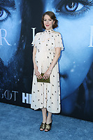 "LOS ANGELES, CA July 12- Gemma Whelan,  At Premiere Of HBO's ""Game Of Thrones"" Season 7 at The Walt Disney Concert Hall, California on July 12, 2017. Credit: Faye Sadou/MediaPunch"