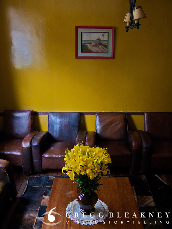 Living Room in the Candelaria District - Bogota - Colombia