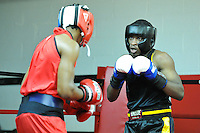 "Fighters compete to be crowned ""Ring King"" at Roccos MMA gym, In Northeast Philadelphia, on June 30, 2012"