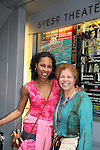 Kim Brockington and her mom Betty went to see A Second Of Pleasure a part of Summer Shorts 3 Festival of New Ameican Short Plays on August 22, 2009 at 59 E 59 Theaters, New York City, New York.  (Photo by Sue Coflin/Max Photos)