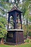 Dzwonnica w cerkwi greckokatolickiej, p.w. św. Paraskewii w Ustianowej Górnej