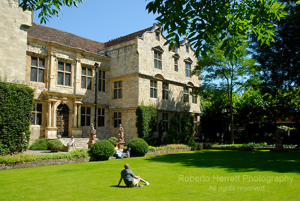 Treasurer's House and garden, York, North Yorkshire, England