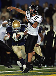 Servite @ Notre Dame - Sherman Oaks (CIF Southern Section).Johnny McEntee (5).Notre Dame High School Stadium.Sherman Oaks, CA (Los Angeles) - October 5, 2007.KN1R8325.CREDIT: Dirk Dewachter