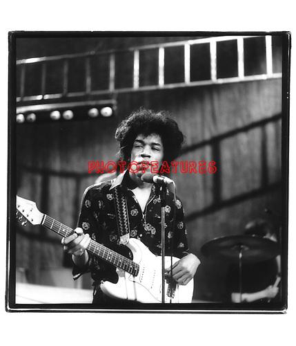 Jimi Hendrix 1966 on Ready Steady Go