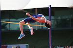 IPC European Athletics Championship 2014<br /> Jonathan Broom-Edwards GBR<br /> Men's High Jump T44<br /> Swansea University<br /> <br /> 21.08.14<br /> ©Steve Pope-SPORTINGWALES