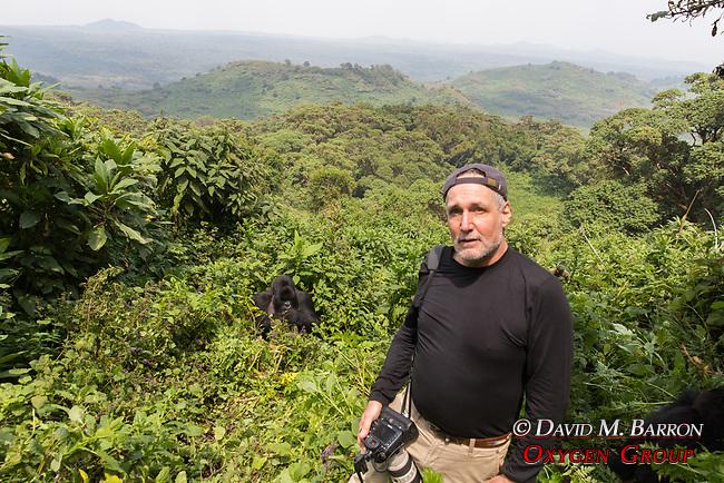 David With Mountian Gorillas