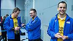 SCHIEDAM - NK reserveteams zaalhockey. Finale Tilburg D2-HDM D2 (1-3) . Scheidsrechters Pascal Engelbertink Jos van der Til, Reserve: Bram Struikmans   COPYRIGHT KOEN SUYK