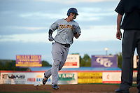 Trenton Thunder outfielder Tyler Austin (35) runs the bases after hitting a home run during a game against the Binghamton Mets on August 8, 2015 at NYSEG Stadium in Binghamton, New York.  Trenton defeated Binghamton 4-2.  (Mike Janes/Four Seam Images)