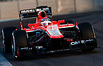 Jules Bianchi of France and Marussia Racing drives during the Abu Dhabi Formula One Grand Prix 2013 at the Yas Marina Circuit on November 3, 2013 in Abu Dhabi, United Arab Emirates. Photo by Victor Fraile / The Power of Sport Images