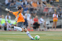 Chicago Red Stars goalkeeper Jillian Loyden (1). The Philadelphia Independence defeated the Chicago Red Stars 3-0 during a Women's Professional Soccer (WPS) match at John A. Farrell Stadium in West Chester, PA, on July 28, 2010.
