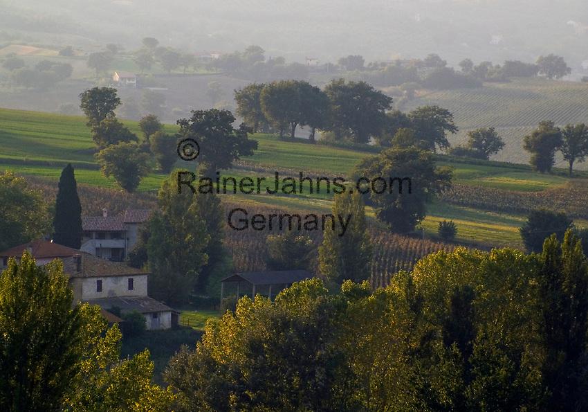 Italien, Umbrien, Landschaft bei Foligno | Italy, Umbria, landscape near Foligno