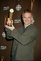 Montreal (Qc) CANADA - March 29 2009 - Jutras award  Gala (for Quebec Cinema) : Andre Turpin, Meilleure Direction de la Photographie (Best DOP), C'est pas moi, je le jure !