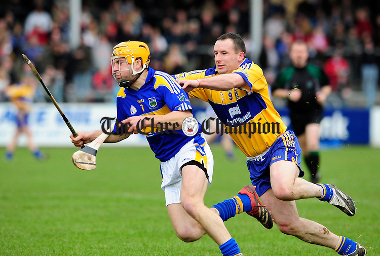 NHL Clare V Tipperary at Cusack Park.Pic Arthur Ellis. Colin Lynch Clare