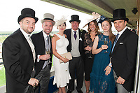 Guests enjoying The Coronation Stakes Day of Royal Ascot 2017 at Royal Ascot Racecourse on Friday 23rd June 2017 (Photo by Rob Munro/Stewart Communications)