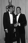 William Shatner, Leonard Nimoy, Star Trek , Academy Awards 1987.