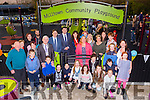 Kerry Mayor Pat McCarthy and the Milltown Playground committee at the official opening of the playground on Sunday