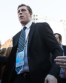Alex Cromwell (PC - 28) - The teams walked the red carpet through the Fan Fest outside TD Garden prior to the Frozen Four final on Saturday, April 11, 2015, in Boston, Massachusetts.