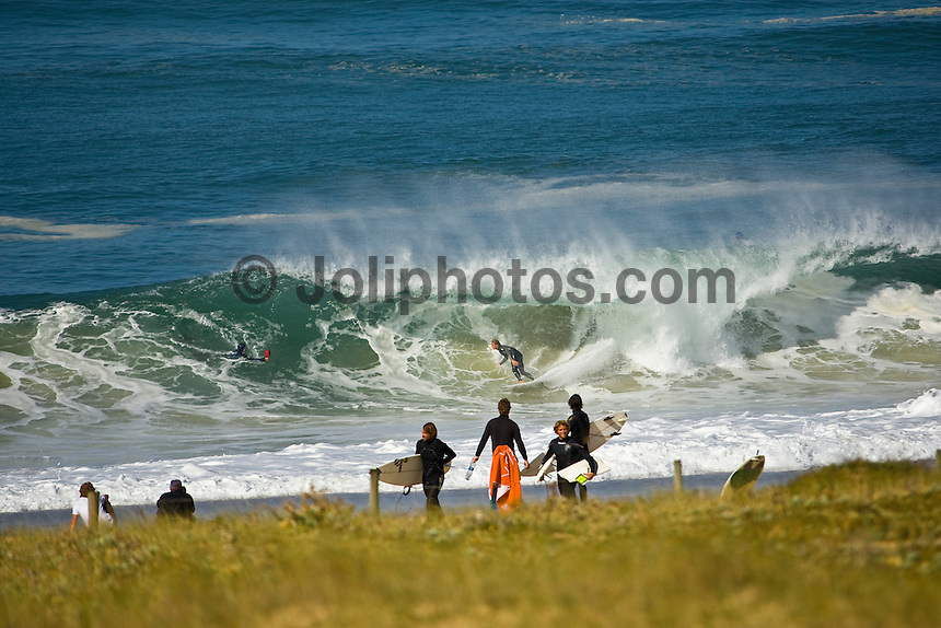Hossegor in the South West corner of France. Photo: joliphotos.com