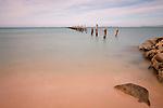 Old Pier, Bridport, Tasmaina