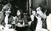 PINK FLOYD - L-R: Richard Wright, David Gilmour, Roger Waters, Nick Mason - photographed in Paris France - 22 Jan 1969.  Photo credit: Christian Rose/Dalle/IconicPix **AVAILABLE FOR UK ONLY**
