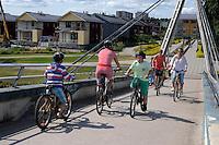 Il ponte Aleksanterinkadun dell&rsquo;architetto Mikko Kairan.<br /> The bridge Aleksanterinkadun by architect Mikko Kairan.<br /> Porvoo Borg&aring; &egrave; un&rsquo;antica citt&agrave; medievale dichiarata dall'UNESCO patrimonio dell'umanit&agrave;.<br /> Porvoo Borg&aring; is an old medieval town, UNESCO World Heritage Site.