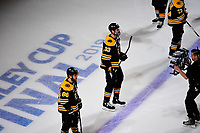 during game 5 of the NHL Stanley Cup Finals between the St Louis Blues and the Boston Bruins held at TD Garden, in Boston, Mass. The Blues defeat the Bruins 2-1 in regulation time. Eric Canha/CSM