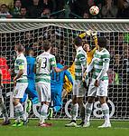 Craig Gordon last gasp save from free-kick
