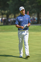 Shubhankar Sharma (IND) grimaces as he approaches his putt on 9  during round 4 of the World Golf Championships, Mexico, Club De Golf Chapultepec, Mexico City, Mexico. 3/4/2018.<br /> Picture: Golffile | Ken Murray<br /> <br /> <br /> All photo usage must carry mandatory copyright credit (&copy; Golffile | Ken Murray)