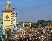 Deutschland, Bayern, Oberbayern, Muenchen: Oktoberfest | Germany, Bavaria, Upper Bavaria, Munich: October Festival