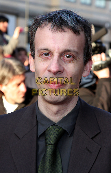 DAVID SCHNEIDER .Attending the World Premiere of  'The Infidel' at the Hammersmith Apollo, London, England, UK, April 8th 2010.arrivals portrait headshot green tie shirt grey gray .CAP/ROS.©Steve Ross/Capital Pictures.