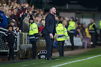 27th December 2019; Dens Park, Dundee, Scotland; Scottish Championship Football, Dundee Football Club versus Dundee United; Dundee manager James McPake  - Editorial Use