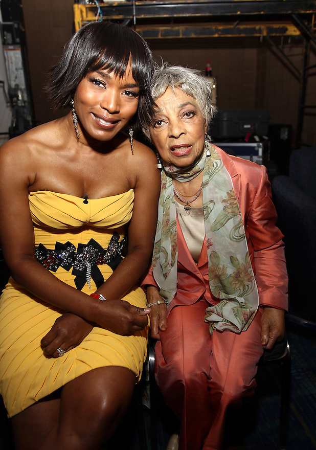 Hosts Actress Angela Bassett and Honoree Ruby Dee attends  the 8th Annual 365 Black Awards at the Ernest N. Morial Convention Center in New Orleans, LA on Friday July 1,2011.(AP Photo/ Donald Traill)