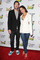 WESTWOOD, LOS ANGELES, CA, USA - JUNE 21: Noah Lebenzon, Ana Ortiz at the Los Angeles Premiere Of 'La Golda' held at The Crest on June 21, 2014 in Westwood, Los Angeles, California, United States. (Photo by Celebrity Monitor)